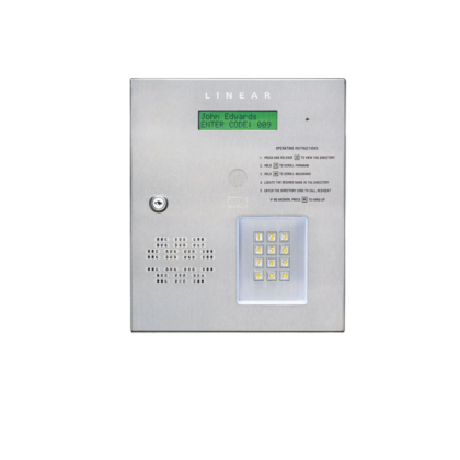 telephone entry System Miami parking Access Control