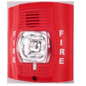 System Sensor Spectralert P2r Horn Strobe Fire Alarm