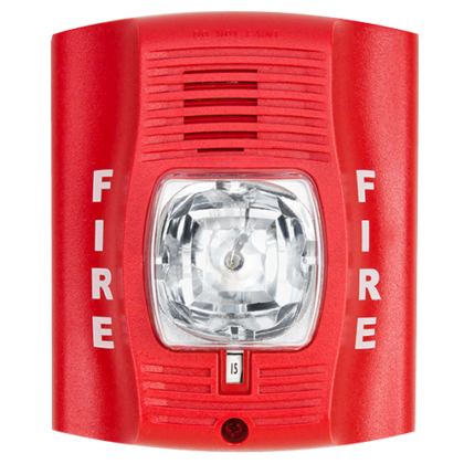 Miami-Broward Fire Alarm inspection certification (P4R System Sensor Horn Strobe)