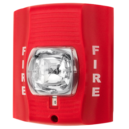 red strobe light Fire Alarm Miami