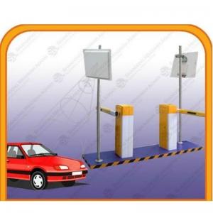 UHF Long Reader Sunpass Antenna Installation Miami Broward Parking Garage Access Control Gate