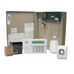Vista 20p security alarm package