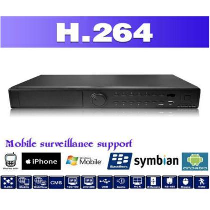 16 channels 1.5U Professional DVR 1080p AHD
