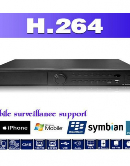 16 channels 1.5U Professional DVR 1080p AHD