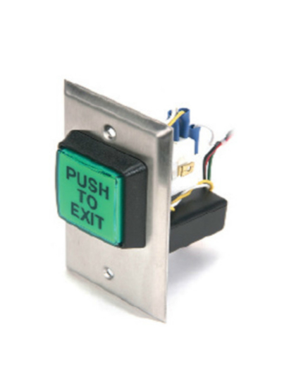 CM30EE PUSH TO EXIT BUTTON with Delay