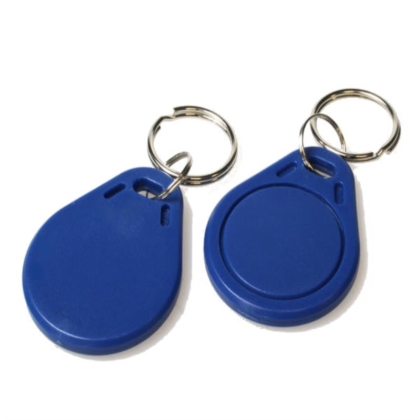 Blue HID Generic Key Fob card card